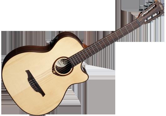 guitare electro acoustique lag accessoires petite. Black Bedroom Furniture Sets. Home Design Ideas