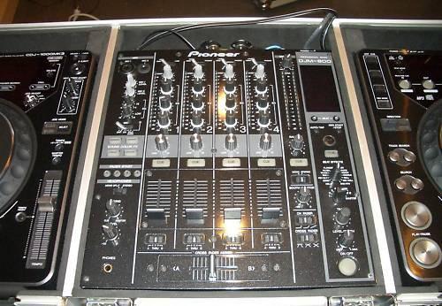 2 lecteur cdj pioneer table djm de mixage petite - Table de mixage pioneer occasion ...