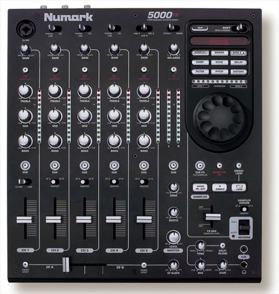 Table De Mixage Numark 5000fx Petite Annonce Trocmusic