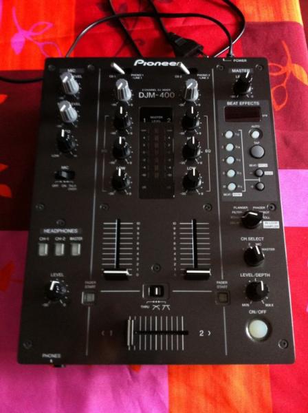 Table De Mixage Pioneer Djm400 Petite Annonce Trocmusic