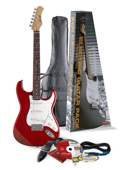 pack guitare electrique stagg s300 ampli 20 petite. Black Bedroom Furniture Sets. Home Design Ideas