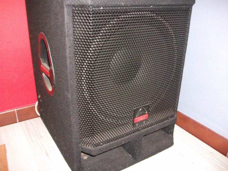 wharfedale caisson de basse amplifie evpx15pb petite annonce trocmusic. Black Bedroom Furniture Sets. Home Design Ideas