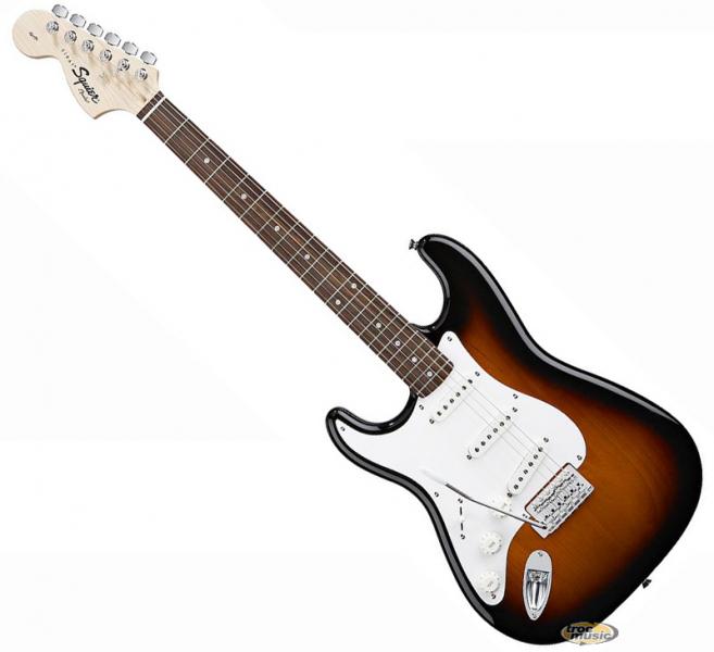 Photo annonce Squier Stratocaster gaucher 93