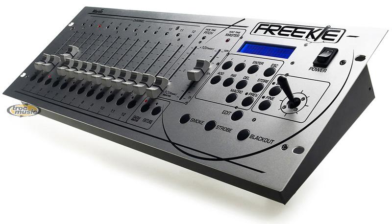 Photo annonce Martin Freekie DMX 512 table Controleur