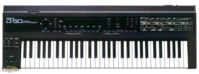 Photo annonce Clavier   Roland  D50 en panne + fly case