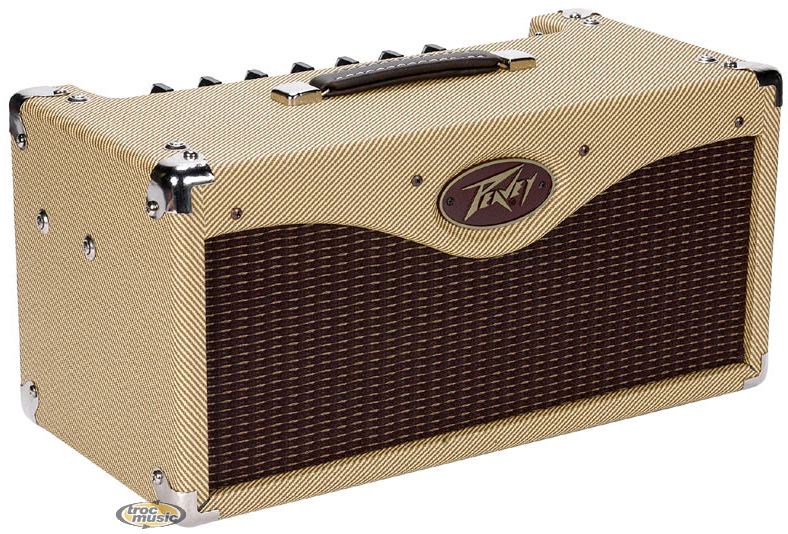 Photo annonce Peavey   Classic  30 tweed tete tt lampes US