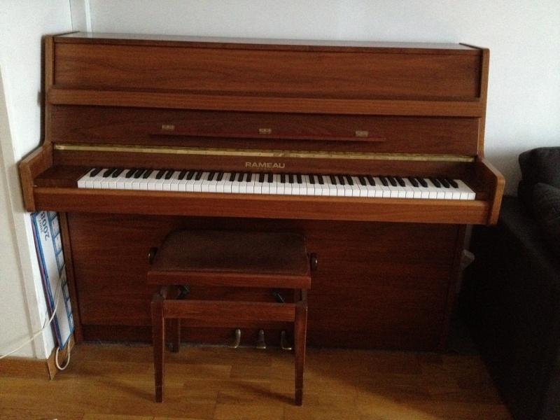 piano droit rameau mecanique renner petite annonce trocmusic. Black Bedroom Furniture Sets. Home Design Ideas