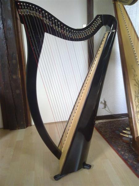 harpe celtique camac aziliz petite annonce trocmusic. Black Bedroom Furniture Sets. Home Design Ideas