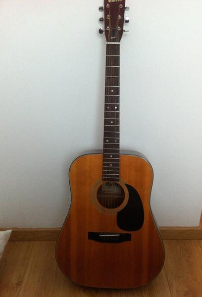 guitare folk morris w 601 copie martin d18 petite. Black Bedroom Furniture Sets. Home Design Ideas