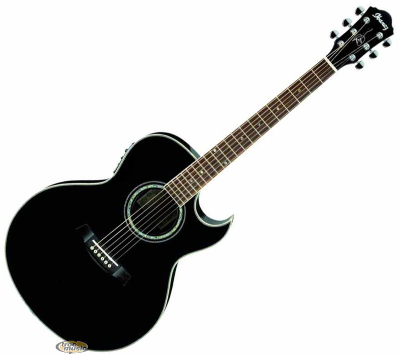photo guitare electro acoustique ibanez jsa10 bk trocmusic. Black Bedroom Furniture Sets. Home Design Ideas