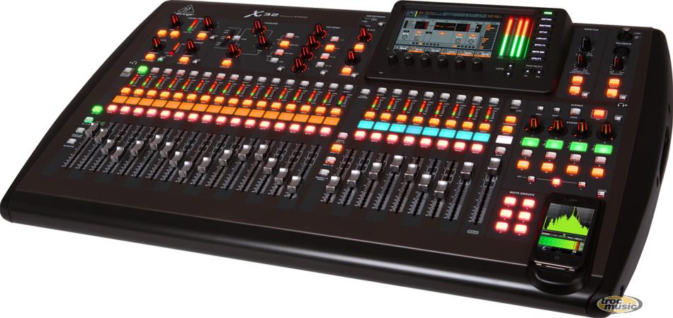 Fiche descriptive behringer x32 console numerique - Console numerique behringer ...